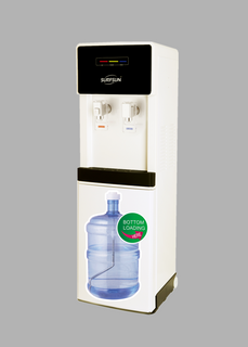 Surfsun High Efficiency Compressor Cooling Hidden Bottle Bottom Loading Standing Water Dispenser