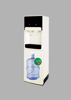 Surfsun Easy To Move Hidden Bottle Loading Water Cooler